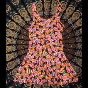 Free People Butterfly Dress New SZ M 🦋 wow!